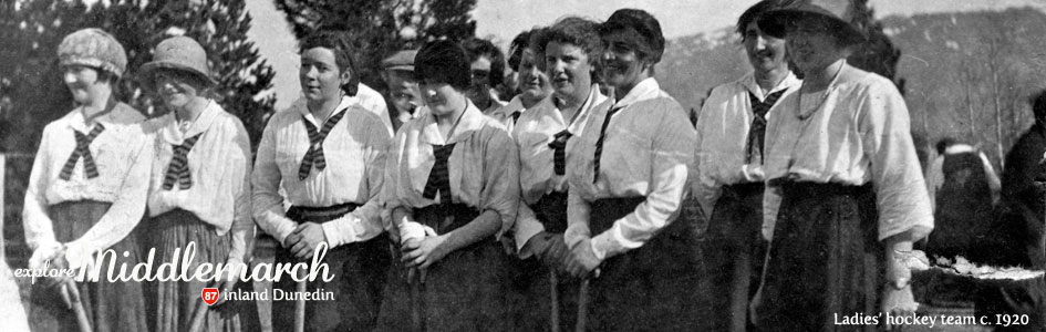 Ladies' hickey team c. 1920