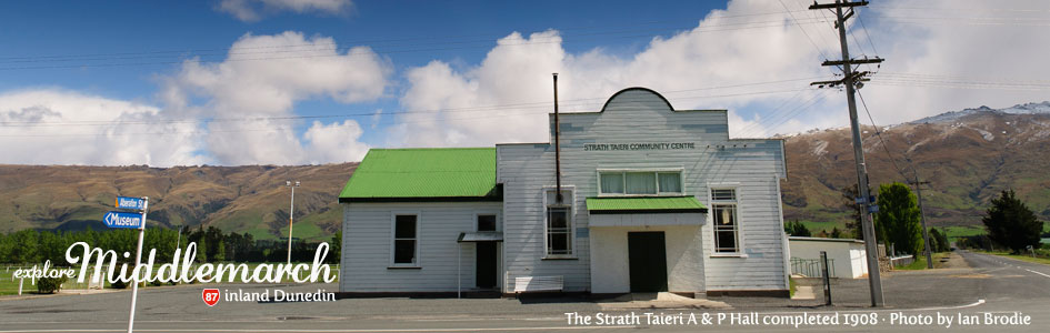 Strath Taieri Communit Hall